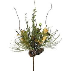 Welcome guests to your fall potluck or autumnal celebration with this eye-catching fall foliage spray, perfect tucked into a ceramic vase. ...
