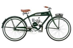 Ridley Vintage Motorcycles  Production motorized bike.