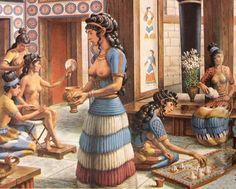 Bronze Age Minoans Crete