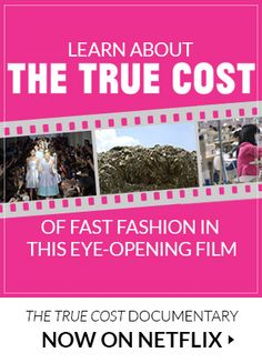 incredible eye opener on clothing and the fashion industry on netflix ethical impact of fast. Black Bedroom Furniture Sets. Home Design Ideas