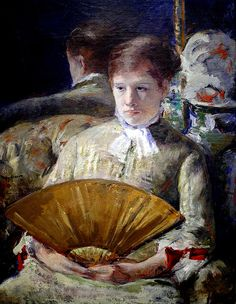 Mary Cassatt - Miss Mary Ellison at National Art Gallery Washington DC