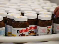 A mountain of Nutella spread and Kinder chocolate eggs disappeared in a sugar rush when thieves stole a lorry's trailer in central Germany. French Supermarkets, Promotion, Nutella Spread, Ville France, Hazelnut Spread, Nutrition, Chocolate Hazelnut, Sugar Rush, Bologna