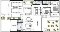 projeto de arquitetura residencial - Pesquisa Google