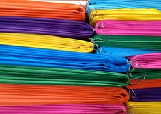 20 Mix Size L, M & S Hanging Tissue Paper Pom Poms - Mexican Fiesta Colors - Mexican Themed Party Decorations. $55.00, via Etsy.