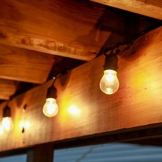 Vintage style string Lights with glass Edison light bulbs are heavy duty enough for outdoor patio decor, and stylish enough for indoor decorating, and celebrations.