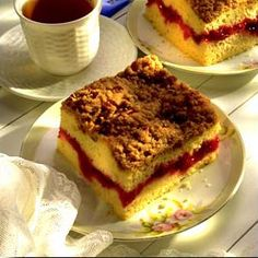 Cherry Coffee Cake | Land O'Lakes