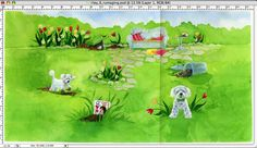photoshop stitch clone layers scans together seamless