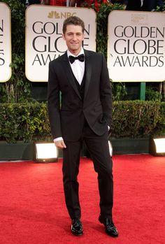 Matthew Morrison arrives at the 69th Annual Golden Globe Awards