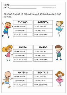 Portuguese Lessons, Professor, Baby Kids, Homeschool, Teaching, Education, Instagram, Blog, Preschool Literacy Activities