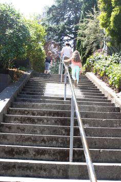 Have you ever taken a Secret Stairs hike? Info when you click through.