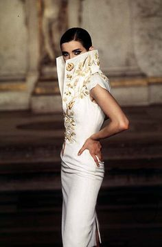 Givenchy Haute Couture S/S 1997 - The sea has neither meaning nor pity.
