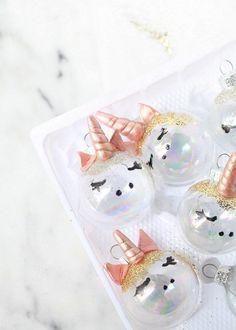 Unicorn Ornaments   Posh Little Designs