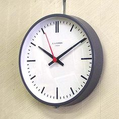 E.A.コムス(コームス) 掛け時計 クロック E.A.COMBS CLOCK Ref. 6070