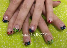 Animal print nails!  #head2toesalon #nailsbybobbie