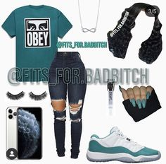 Swag Outfits For Girls, Cute Teen Outfits, Teenage Girl Outfits, Girls Fashion Clothes, Casual Winter Outfits, Teenager Outfits, Cute Summer Outfits, Edgy Outfits, Latest Fashion Clothes