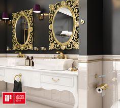 Geesan voitokas uutuus Tone Gold, 2015 iF Design Award Helsinki, Design Awards, Bathroom Lighting, Mirror, Furniture, Home Decor, Bathroom Light Fittings, Bathroom Vanity Lighting, Decoration Home