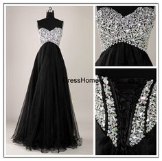 black prom dress long prom dress evening prom dresses by… Homecoming Dresses Long, Cute Prom Dresses, Prom Dresses 2016, Grad Dresses, Pretty Dresses, Beautiful Dresses, Bridesmaid Dresses, Formal Dresses, Dress Prom