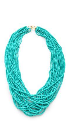 Kenneth Jay Lane Turquoise Necklace | SHOPBOP