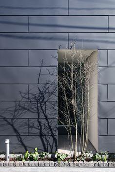 ガルバリウム鋼板 平葺き 外壁