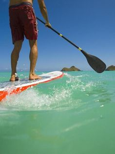 Best Places To Stand Up Paddle Board! We choose Maui :)