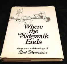 Where the Sidewalk Ends Shel Silverstein 1974 Hard Cover Dust Jacket Book