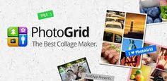 Photo grid collage. herramienta para hacer collages.