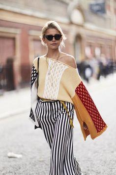 The Best Street Style At London Fashion Week - Fashion Moda 2019 Looks Street Style, Street Style Trends, Spring Street Style, Looks Style, Street Styles, Summer Street, Spring Style, Spring Fashion Trends, Women's Summer Fashion