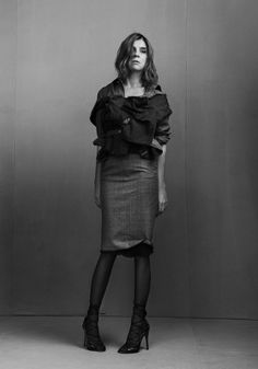 CR FASHION BOOK: CARINE ROITFELD BY PHOTOGRAPHERS MAX VON GUMPPENBERG & PATRICK BIENERT