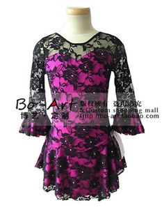 hot sales Ice Skating Dress Beautiful  New Brand vogue Figure Ice Dress Competition customize A2044-in Apparel & Accessories on Aliexpress.com