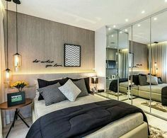 Changes are good and, if you are creating a new cozy space and need some bedroom ideas, take a look at the board and let you inspiring! See more clicking on the image. Bedroom Bed, Bedroom Furniture, Master Bedroom, Bedroom Decor, Bedroom Ideas, Bedrooms, Home Interior, Interior Design, Suites