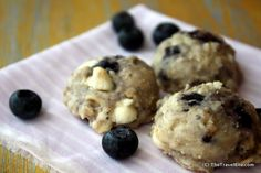 Maine Blueberry & White Chocolate Chip Cookies by Dana Moos (The Art of Breakfast)