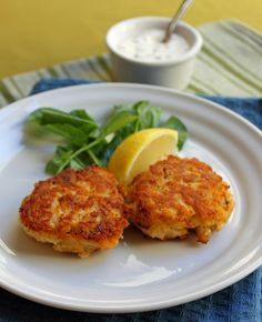 Crab Cakes from Flatwater in Broadripple, delicious!