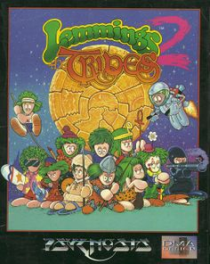 Lemmings 2 - The Tribes (Amiga)