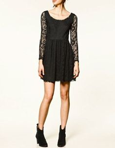 Zara lace dress --> lo tengo!