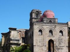 San Cataldo, piazza Bellini, Palermo  he church of San Cataldo was founded by Maio of Bari, chancellor to William I, during the Norman occupation in 1154. After Maio died in 1160, the interior was never completed.  The church has belonged to the Knights of the Holy Sepulchre since 1937.  #bedandbreakfast  #palermo  www.piccolasicilia.it