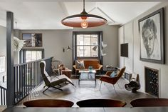 Mid-Century Modern Living Room in London, GB by Sigmar