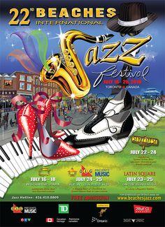 Jazz Festival Poster Art !!!
