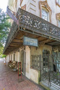Visiter Savannah Georgie - antiquités                                                                                                                                                                                 Plus
