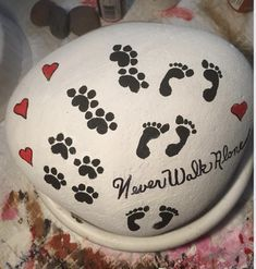 Easy Painted Rock For Gift in Valentine Day #Paintedrock #Rockpainting