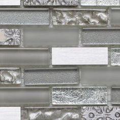 Wickes Silver Moon Brick Mosaic Tile 305 x 305mm | Wickes.co.uk