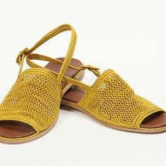 Handwoven raffia Shoes, Palm Style, Made in Morocco