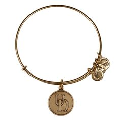 University of Delaware Logo Charm Bracelet | Alex and Ani (Cute gift for a high school grad off to college!)