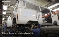 The last VW Kombi will be assembled next 20th. December 2013 in Brasil !