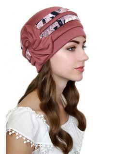 "Шапка ""Микела"" Baby Bloomers Pattern, Scrub Hat Patterns, Kurta Neck Design, Long Gown Dress, Hair Cover, Turban Style, Church Hats, Rocker Chic, Mode Hijab"