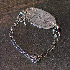 Scripture Jewelry Bracelet.  $160.00
