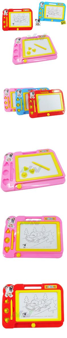 NEW Plastic Magnetic Drawing Board Sketch Sketcher Doodle Writing Painting Craft Art For Kids Children Multi Color