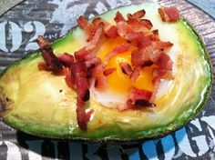 Bake an Egg in an Avocado for a Fast and Healthy Breakfast Treat | Baked Avocado and Egg Breakfast (Or Snack/Dinner/Anytime) | TopsyTasty