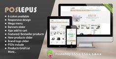 Lepus - Responsive Prestashop Theme