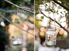 pretty votives for any outdoor event