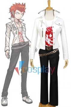 Leon Kuwata Outfit Costume Danganronpa Cosplay